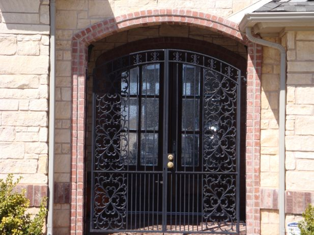 Custom Iron Works Gates Fence Stairs Entry Doors